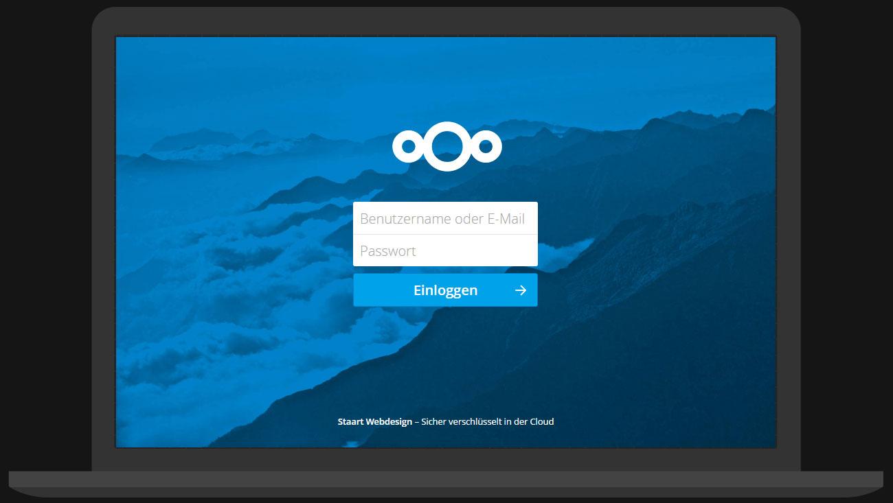 Nextcloud auf dem Laptop