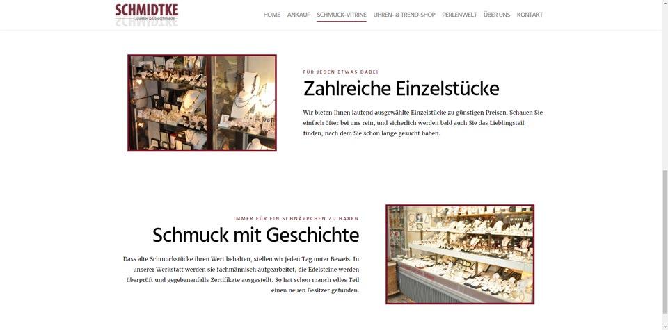 Schmuck Schmidtke Screenshot 2
